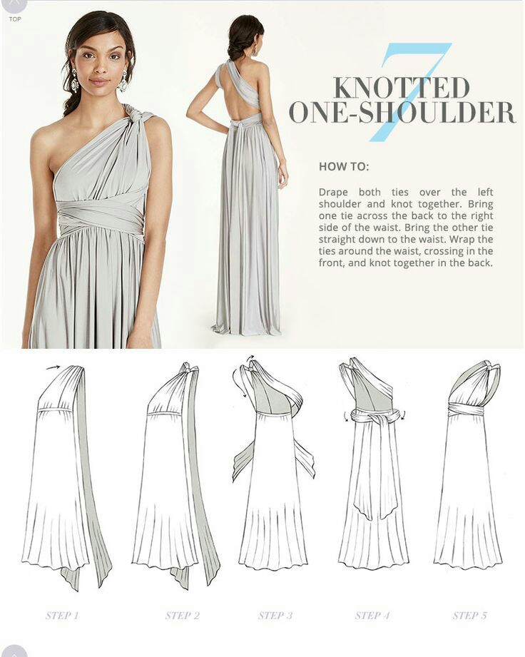 How Do I Style The Multiway Dress Different Styles Available