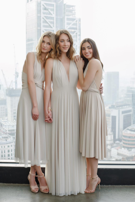 Elegance Cocktail Length Dress Full Mesh Overlay