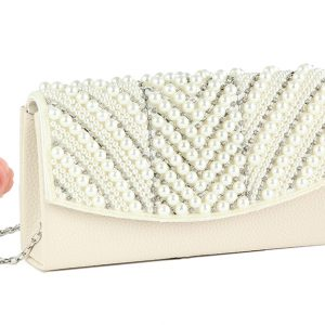 Pearl clutch bag perfect Christmas gift