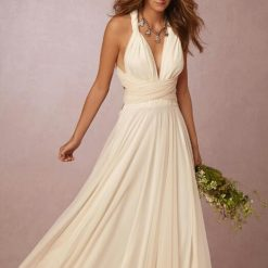 Ivory and Tulle Multiway Dress