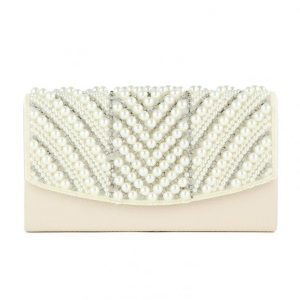 Pearl Clutch Bag Christmas gift ideaCompact Pearl Clutch