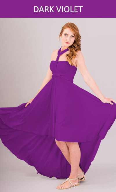 Cascading Infinity Dress