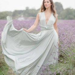 Sage Green Multiway Dress www.presleyblue.ie