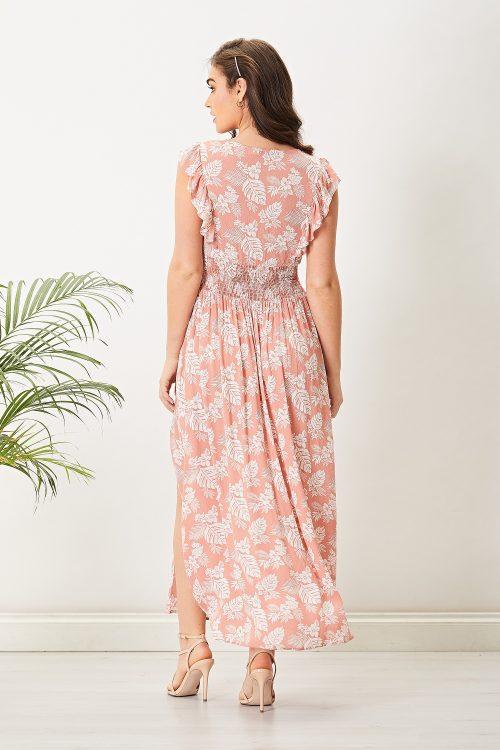 Floral maxi dress at www.presleyblue.ie